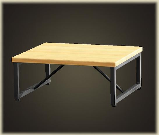 あつ森のアイアンウッドテーブル