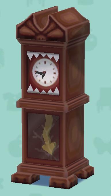 ポケ森のくるった時計