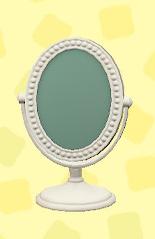 あつ森の置き鏡のホワイト