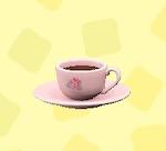 あつ森のコーヒーカップのローズ