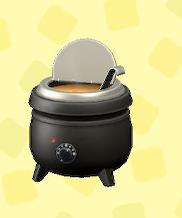 あつ森のスープジャーのコーンポタージュ