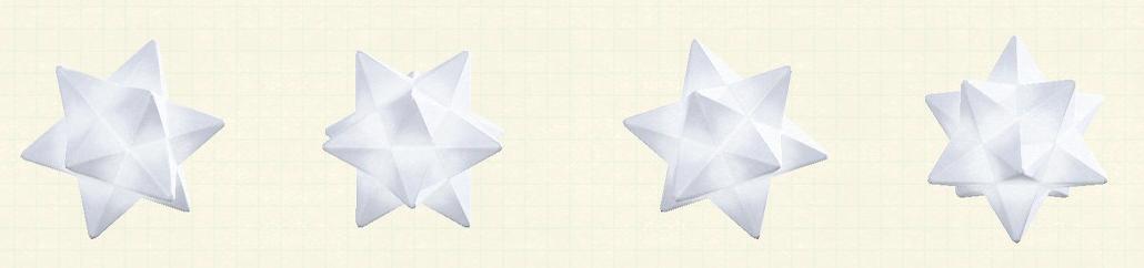 あつ森のスターライトのリメイクホワイトパターン