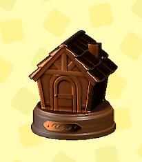 あつ森の銅のおうちトロフィー