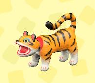 あつ森の張子の虎