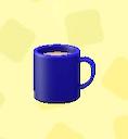 あつ森のマグカップのブルー