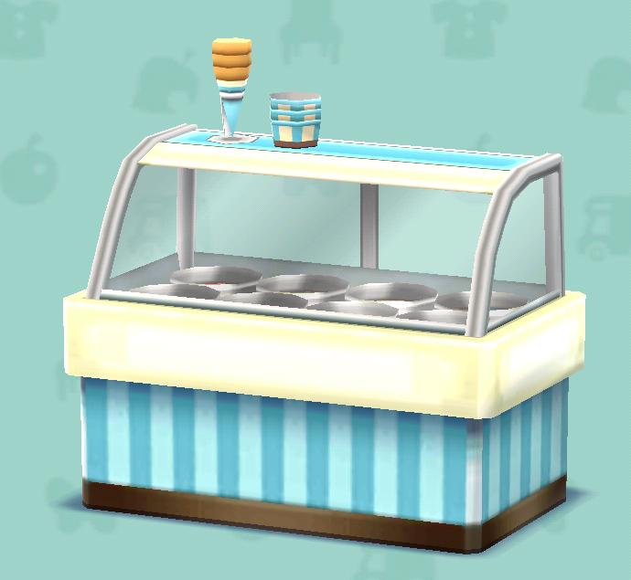 ポケ森のアイスショーケース