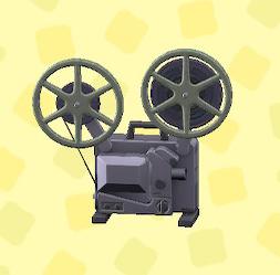 あつ森の映写機