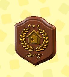 あつ森のアカデミーの金の盾