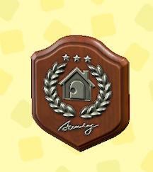 あつ森のアカデミーの銀の盾