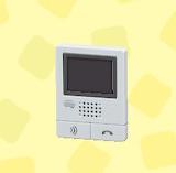 あつ森のインターフォンモニター