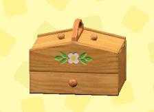 あつ森の裁縫箱のナチュラル
