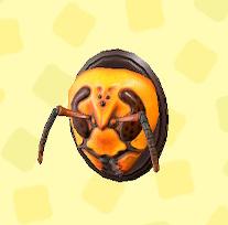 あつ森のハチヘッド