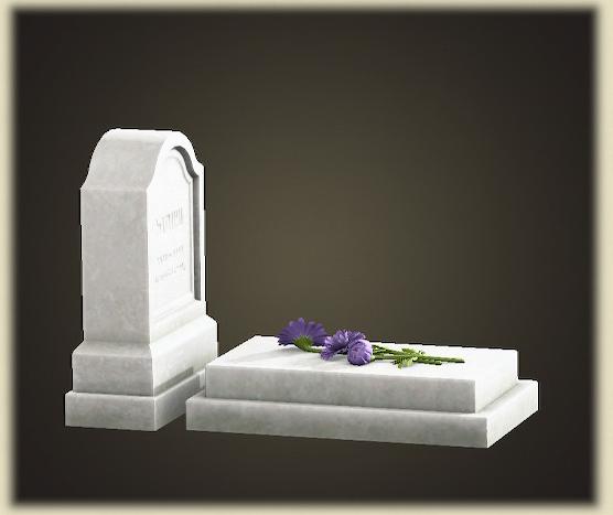 あつ森の洋風の墓石