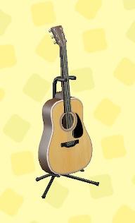 あつ森のアコースティックギターのナチュラル