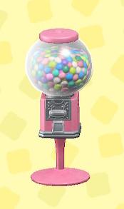あつ森のキャンディマシンのピンク