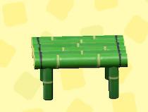 あつ森のたけのスツールの青竹