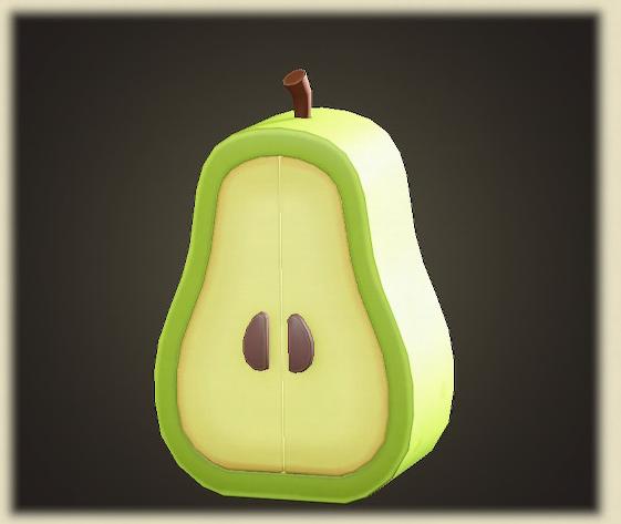 あつ森のナシのクロゼット