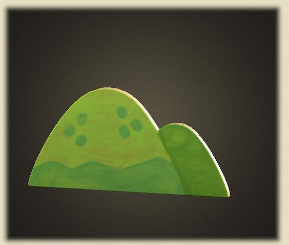 あつ森のハリボテのやま