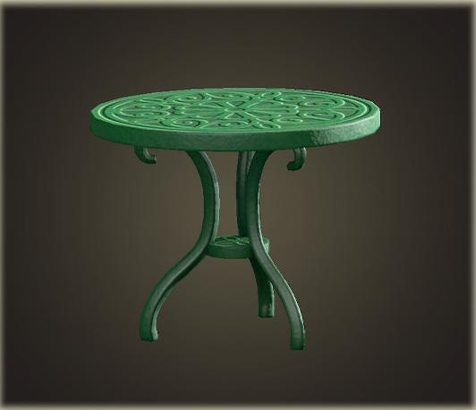 あつ森のアイアンガーデンテーブル