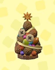 あつ森のちいさなきのみのツリーのブラウンナッツ