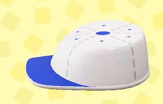 あつ森のTOYなテーブルのホワイト×ブルー