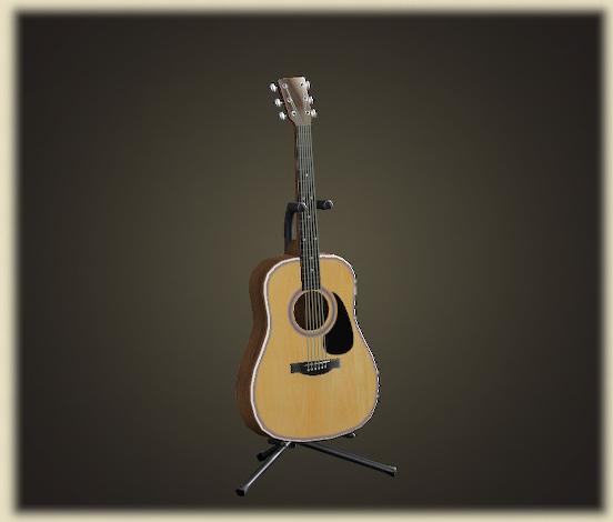あつ森のアコースティックギター