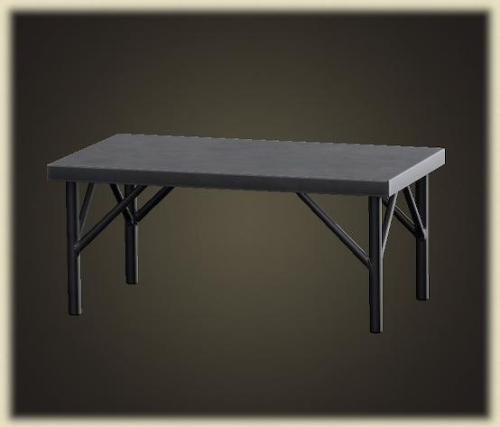 あつ森のアイアンワークテーブル