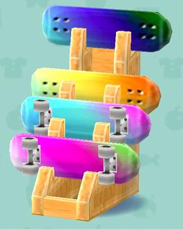 ポケ森のスケートボード