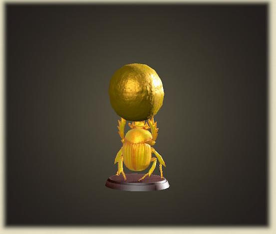 あつ森の金のスカラベ