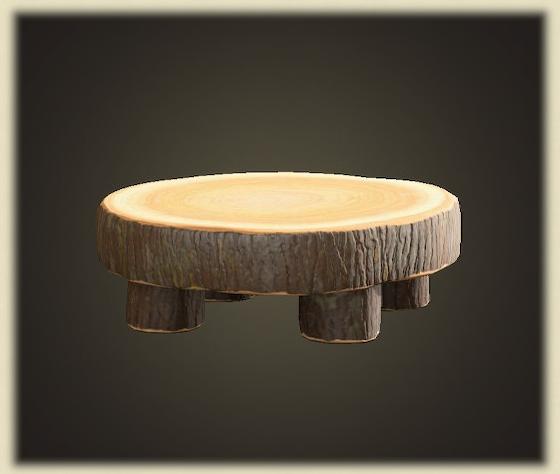 あつ森のまるたのラウンドテーブル