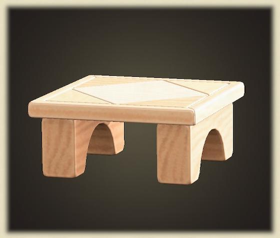 あつ森のつみきテーブル