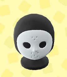 あつ森のホッケーのマスク