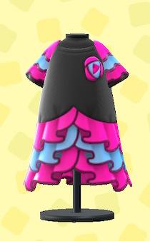 あつ森のルンバなドレスのピンク