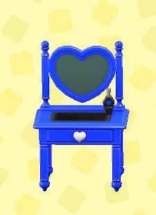 あつ森のキュートなドレッサ―のブルー