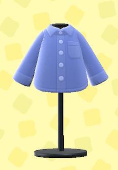 あつ森のワイシャツのブルー