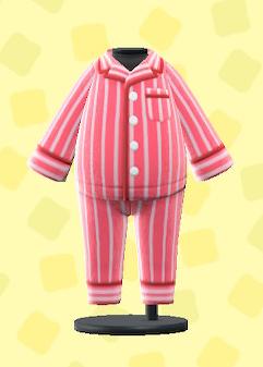 あつ森のパジャマのレッド