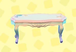 あつ森のマーメイドなテーブル