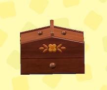 あつ森の裁縫箱のダークブラウン