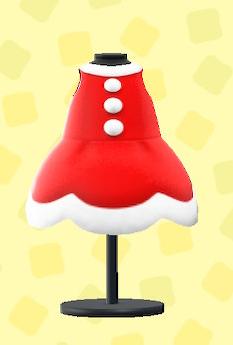 あつ森のクリスマスなドレス