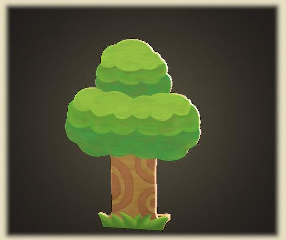 あつ森のハリボテのき