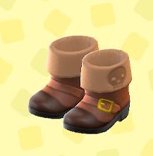 あつ森のかいぞくのブーツ