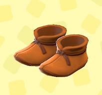 あつ森のまほうつかいのブーツのオレンジ