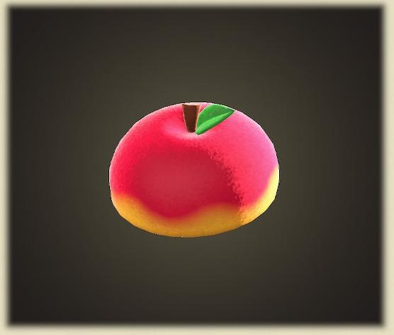あつ森のリンゴのぼうし