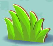 ポケ森のハリボテの草