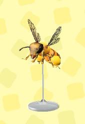 あつ森のミツバチのもけい