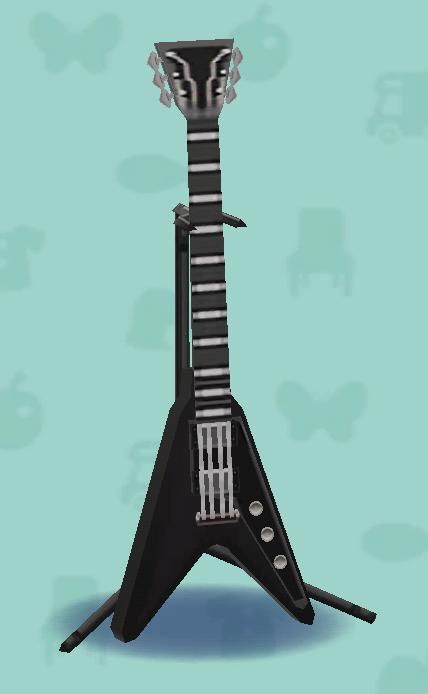 ポケ森のエレキギターES3
