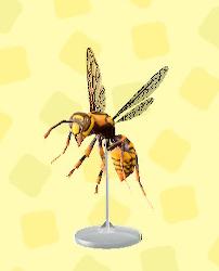 あつ森のハチのもけい