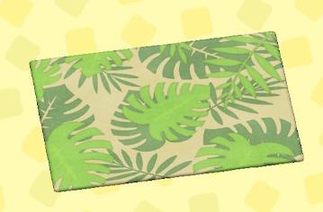 あつ森のボタニカルなラグ