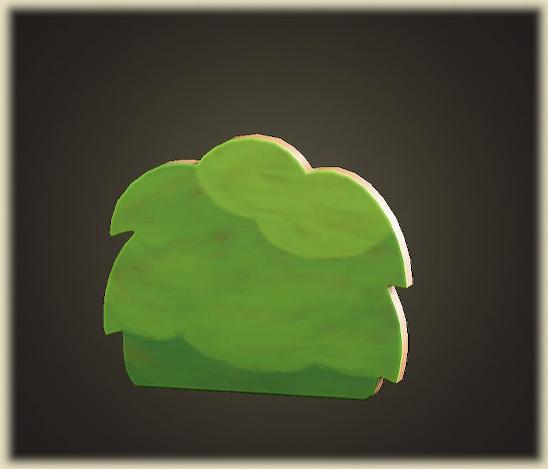 あつ森のハリボテのいけがき