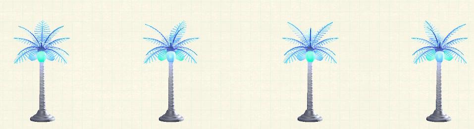 あつ森のパームツリーランプのクールパターン